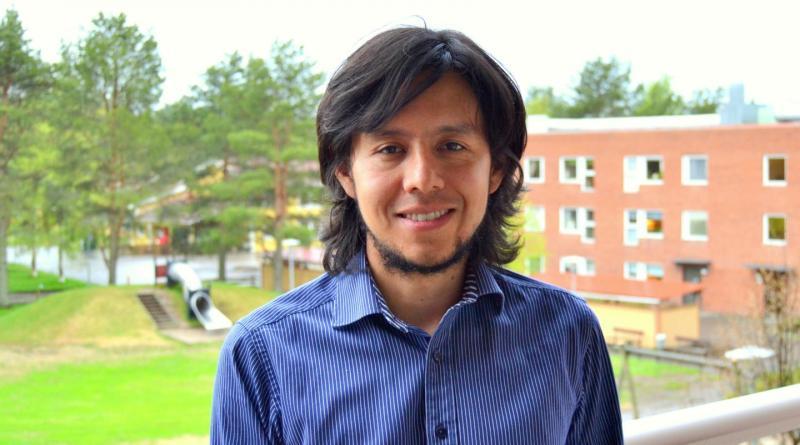 Esteban Guerrero, doctoral student at the Department of Computing Science, Umeå University in Sweden.