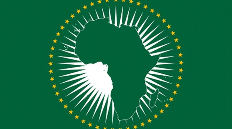 African Union flag. Source: Wikipedia Commons.