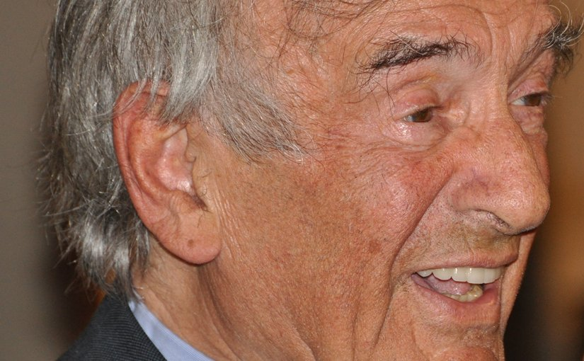 Elie Wiesel. Photo by Вени Марковски, Wikipedia Commons.
