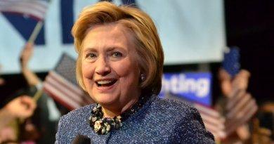 Hillary Clinton. Photo by Zachary Moskow, Wikipedia Commons.