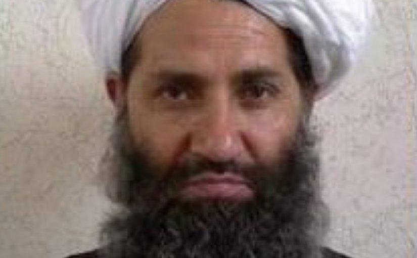 Taliban leader Haibatullah Akhundzada. Source: Wikipedia Commons.