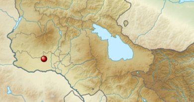 Location of Metsamor Nuclear Power Plant in Armenia. Source: Wikipedia Commons.