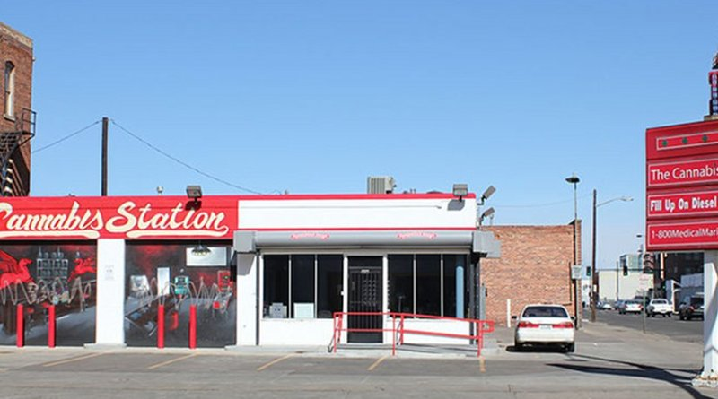Cannabis (marijuana) dispensary in Denver. Photo by Jeffrey Beall, Wikipedia Commons.