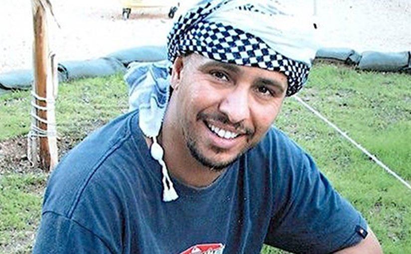 Mohamedou Ould Slahi in a pre-capture photo.