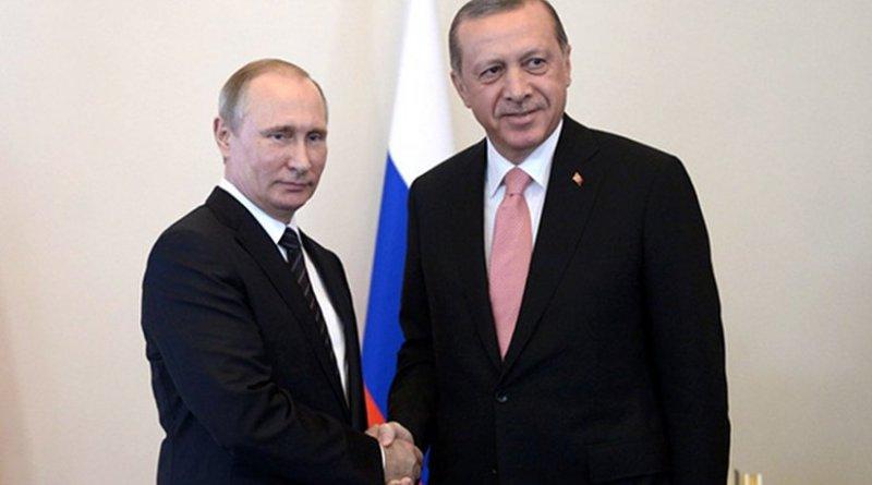 Russian President Vladimir Putin and Turkish President Recep Tayyip Erdogan. Source: Kremlin.ru