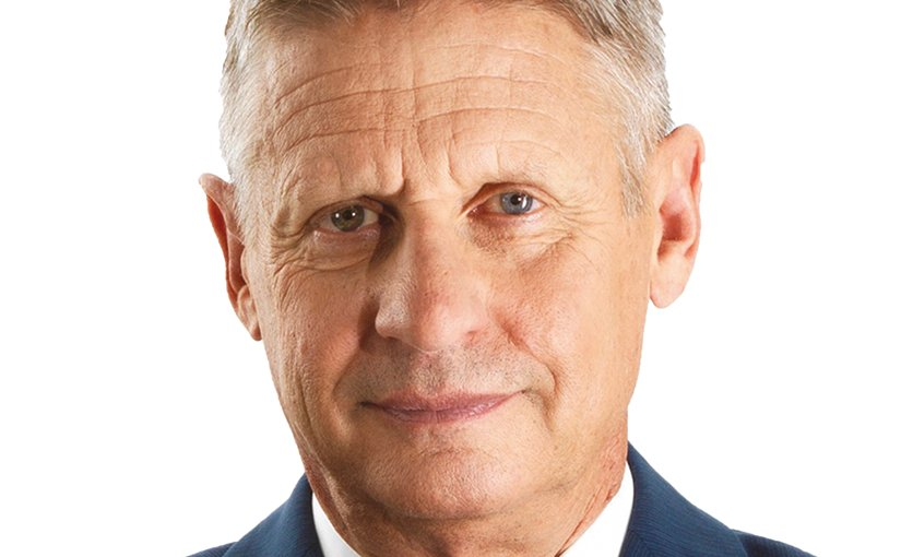 Gary Johnson. Source: Wikipedia Commons.