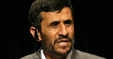 Iran's Mahmoud Ahmadinejad. Photo by Daniella Zalcman, Wikipedia Commons.