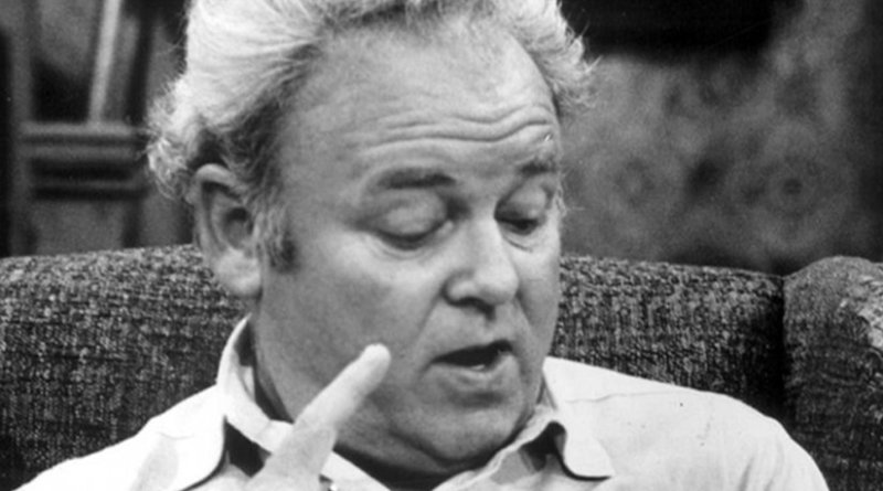 """Archie Bunker' in CBS Television press release is dated 26 November 1975. Wikipedia Commons."