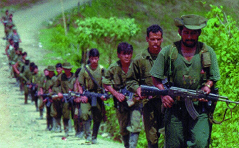 FARC Insurgents. Source: Institute for National Strategic Studies.