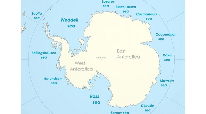 Antarctica. Source: Wikipedia Commons.