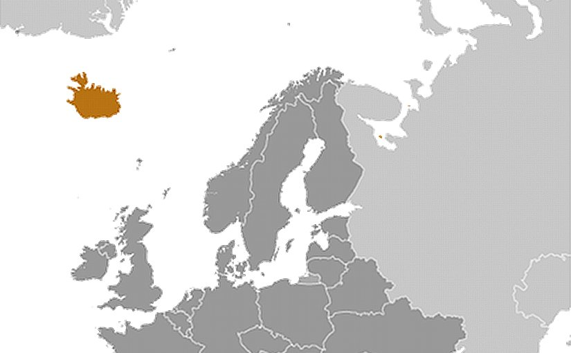 Location of Iceland. Source: CIA World Factbook.