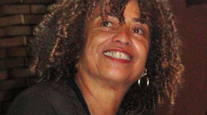 Angela Davis. Photo by DILINHOS, Wikipedia Commons.