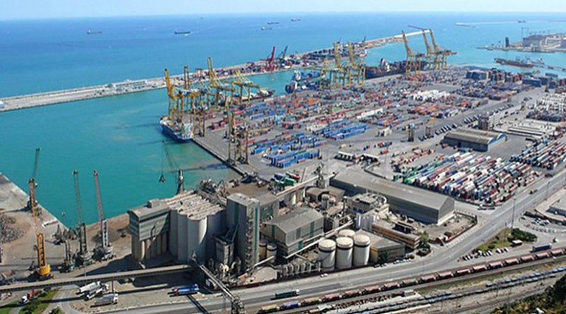 Port of Barcelona. Photo by Jose Mesa.