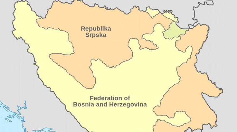 Location of Republika Srpska. Source: Wikipedia Commons.