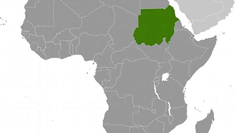 Location of Sudan. Source: CIA World Factbook.