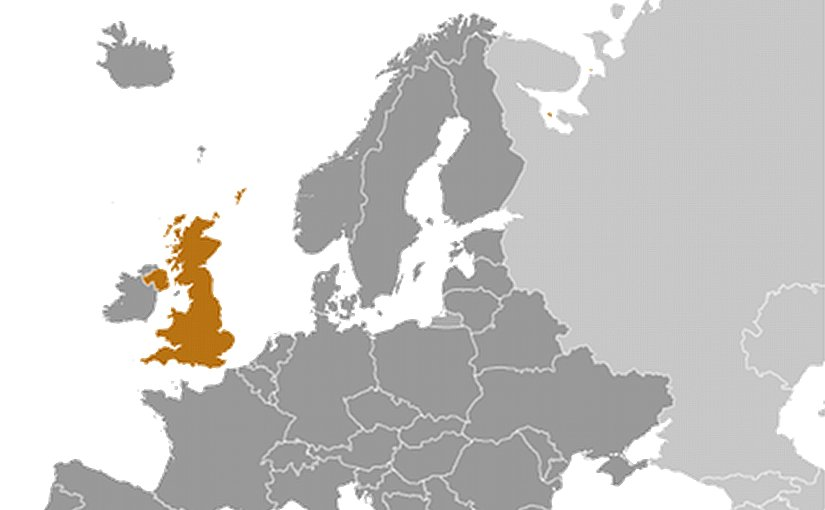 Location of United Kingdom. Source: CIA World Factbook.