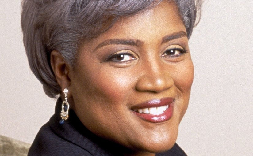 Donna Brazile. Photo by Ron Aira. Copyright holder Brazile & Associates LLC, Wikipedia Commons.