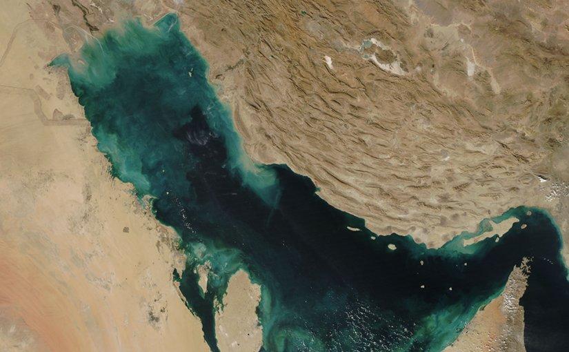 Persian Gulf. Source: NASA, Wikipedia Commons.