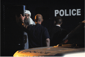 Abu Qatada al-Filistini was held in Belmarsh and Long Lartin prisons on immigration charges.