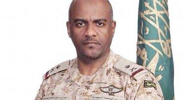 Arab coalition's spokesman Maj. Gen. Ahmed Al-Assiri