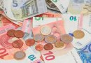 euro bills currency coins