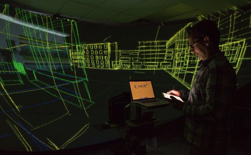 Hybrid Virtual Environment 3D