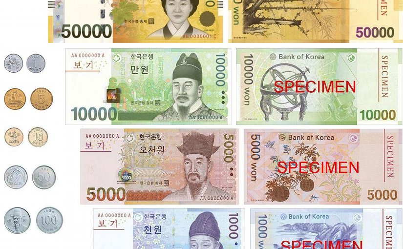 names the of asian What currency are