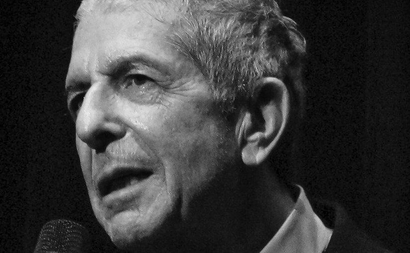 Leonard Cohen. Photo by Rama, Wikipedia Commons.