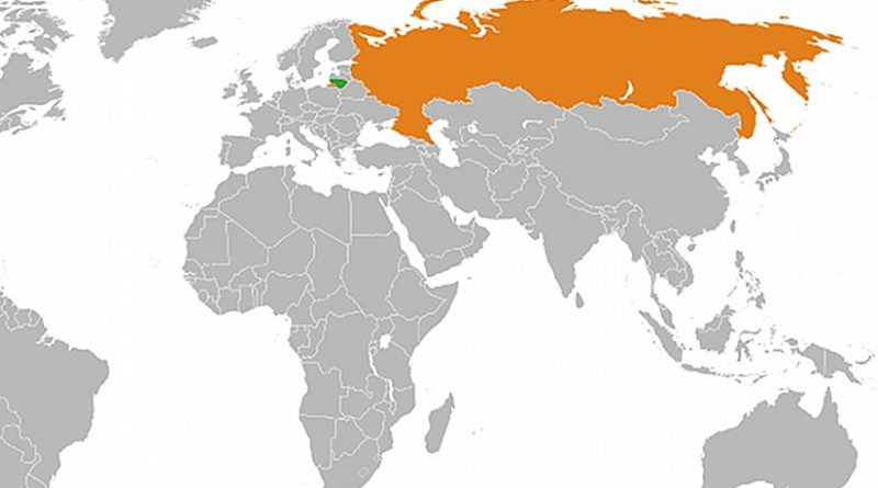 Locations of Lithuania and Russia. Source: Wikipedia Commons.
