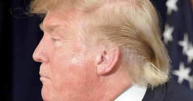 Donald Trump. Photo by Michael Vadon, Wikipedia Commons.