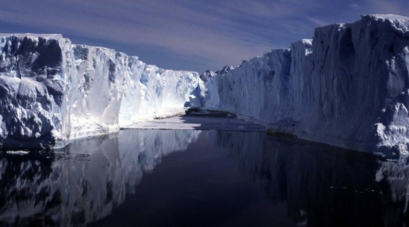 Iceberg in the Weddell Sea is pictured. Credit Mike Weber
