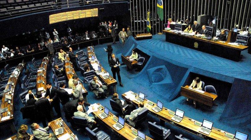 Brazil's Senate. Photo by Wilson Dias/ABr, Wikimedia Commons.