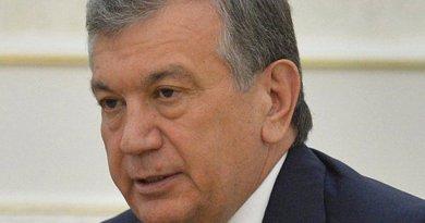 Uzbekistan's Shavkat Mirziyoyev. Photo credit: Kremlin.ru, Wikipedia Commons.