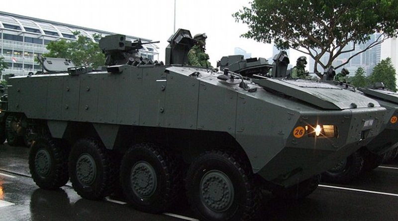 Terrex Infantry Carrier Vehicle. Photo by Limkopi, Wikipedia Commons.