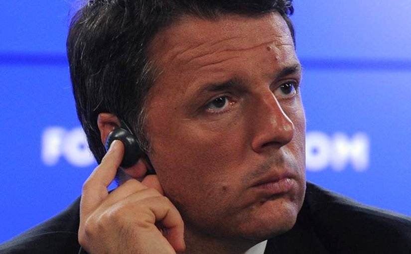 Italy's Matteo Renzi. Photo Credit. Kremlin.ru, Wikipedia Commons.