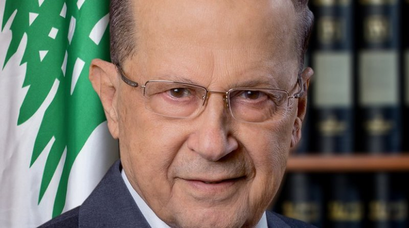 Lebanon's Michel Aoun. Photo by Mgchammas, Wikipedia Commons.