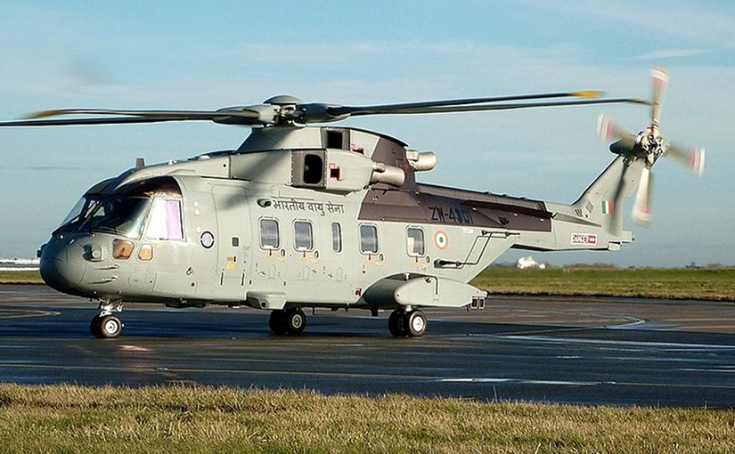 India signed a contract in February 2010 for 12 AgustaWestland AW101 VVIP helicopters. Photo by Brehmemohan, Wikipedia Commons.