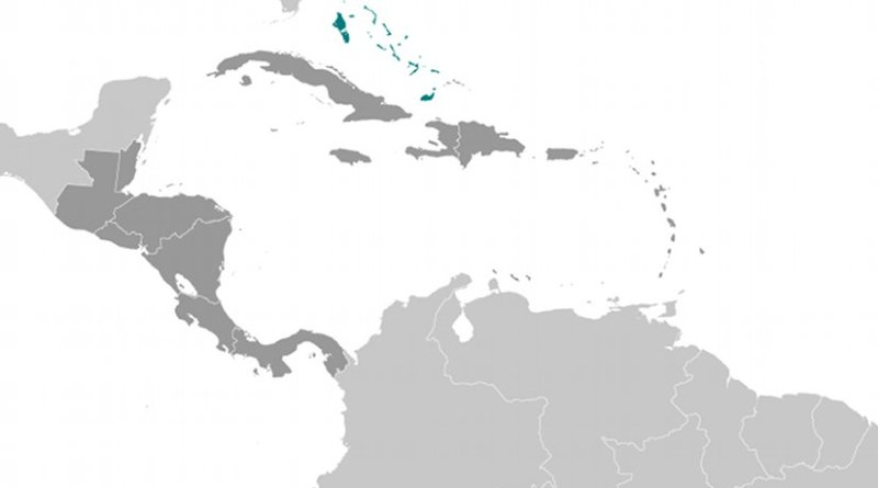 Location of The Bahamas. Source: CIA World Factbook
