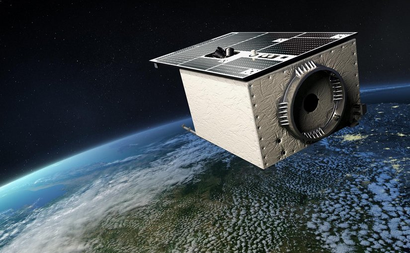 EnMAP is a German hyperspectral satellite mission for earth observation. Imaging spectrometers measure the solar radiation reflected by the earth's surface from visible light right through to shortwave infrared. These allow statements to be made regarding the state of the earth's surface and any visible changes. The mission is due to be launched in 2018 and will continue for five years. Credit DLR CC-BY3.0