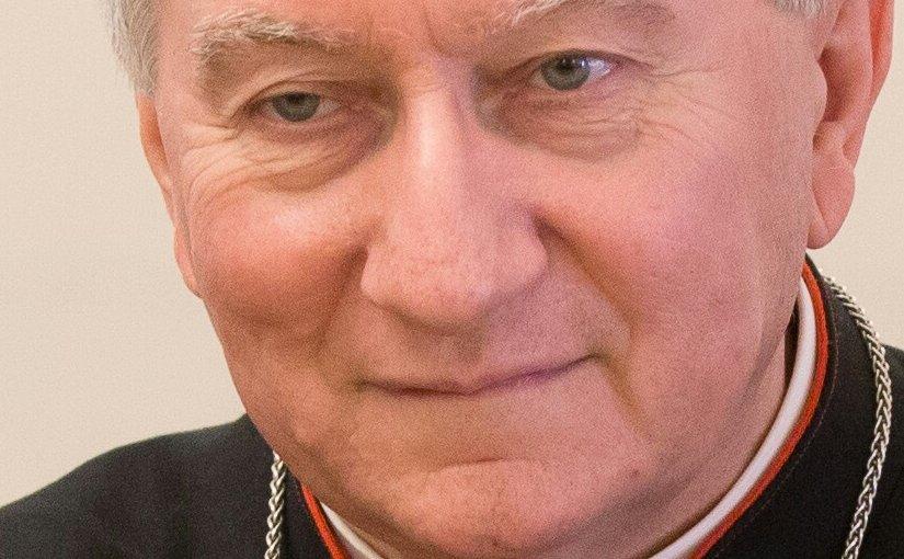 Vatican Secretary of State Cardinal Parolin. Photo by Saeima, Wikipedia Commons.