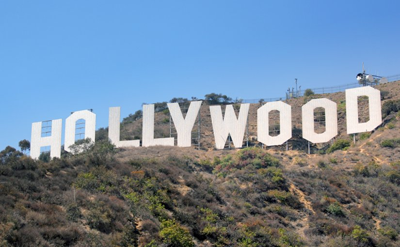 Hollywood Sign. Photo by Sörn, Wikipedia Commons.