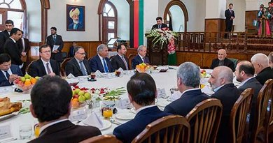 Afghanistan and Uzbekistan officials meet in Kabul. Photo Credit: Afghanistan Foreign Ministry.