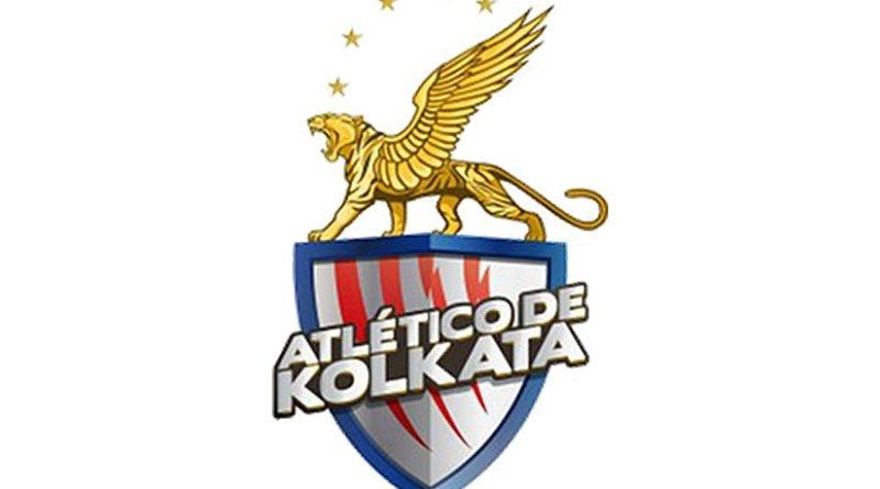 This is a logo for India's Atlético de Kolkata.