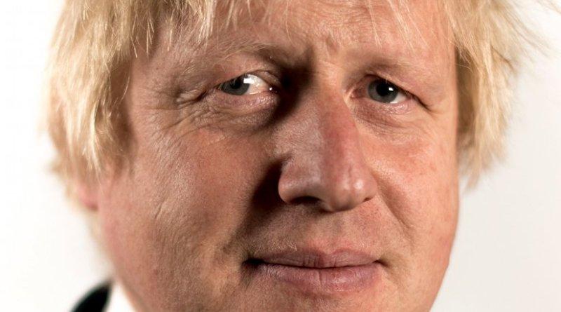 United Kingdom's Boris Johnson. Photo Credit: Government of UK, Wikipedia Commons.