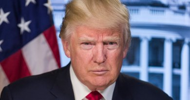 Official Portrait of President Donald J. Trump. Photo Credit: White House.