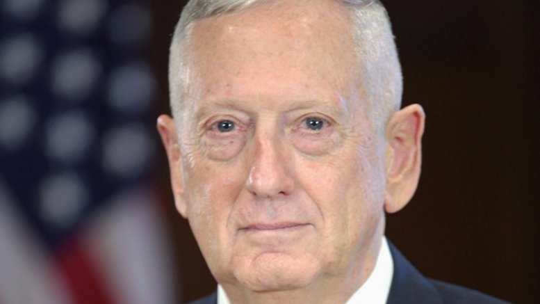 James Mattis. Photo Credit: Office of the President-elect, Wikipedia Commons.
