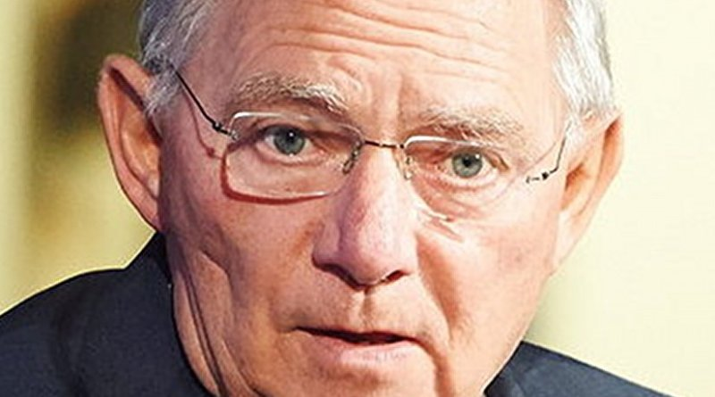 Germany's Wolfgang Schäuble. Photo Credit: European People's Party, Wikipedia Commons.