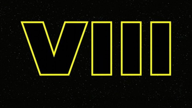 Star Wars: Episode VIII Teaser logo. Source: Wikipedia Commons.
