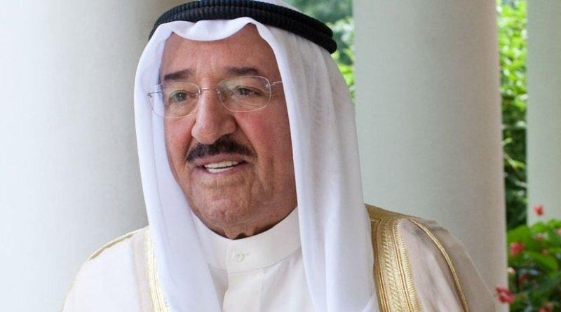Al-Ahmad Al-Jaber Al-Sabah, the Amir of Kuwait. Official White House Photo by Pete Souza.