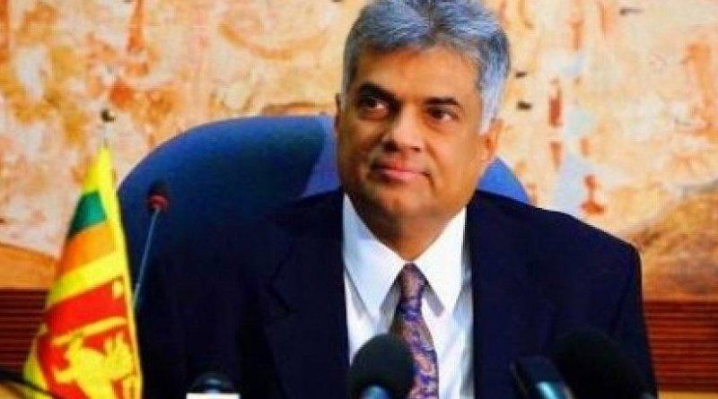 Sri Lanka's Ranil Wickremesinghe. Photo Credit: Sri Lanka government.